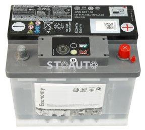 JZW915105 Acumulator cu indicator de incarcare 'ECO' Economy 61Ah OE