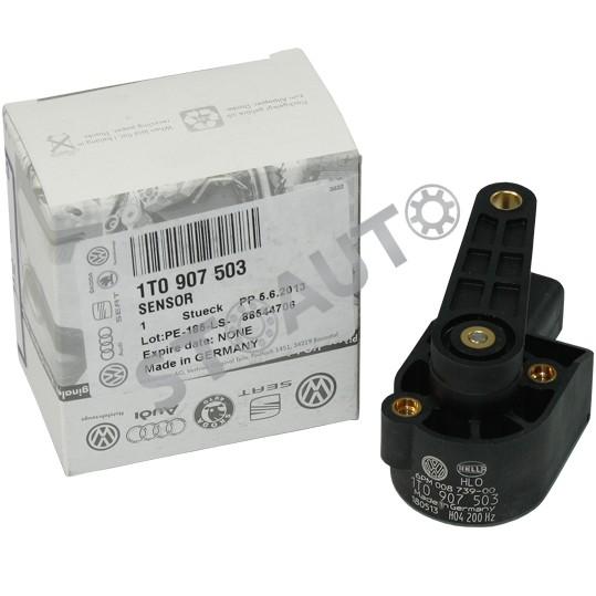 1T0907503 Senzor nivel suspensie fata/spate OE