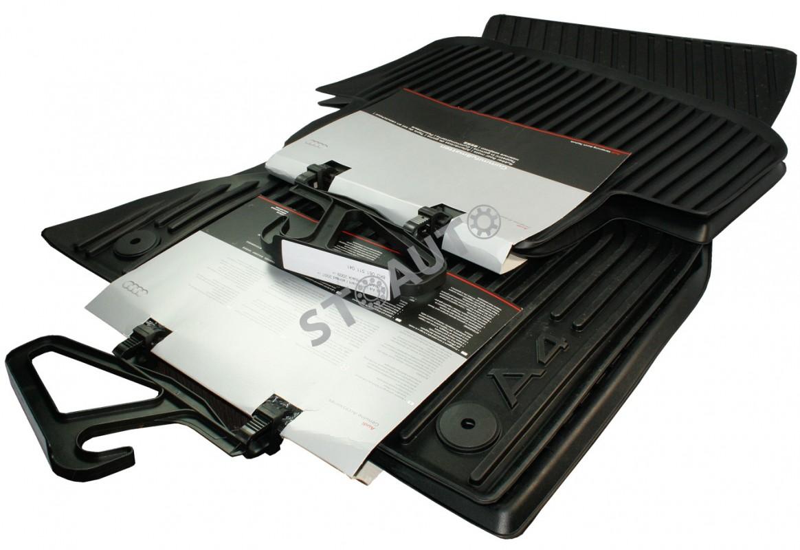 8K1061501 041 / 8K0061511 041 Covorase cauciuc originale Audi A4 B8 2008-2012 fata spate OE