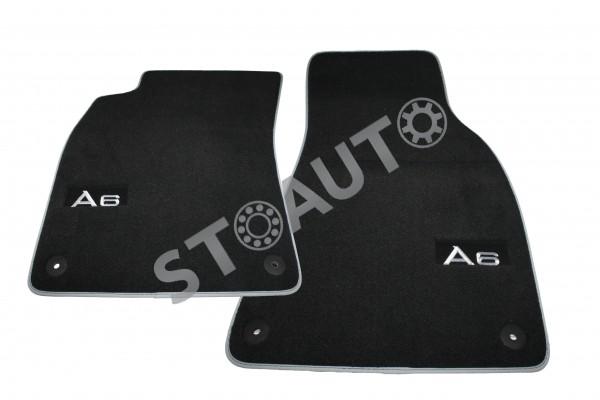 4F1061275P Set covorase textil fata AUDI A6 C6 2005-2012 OE