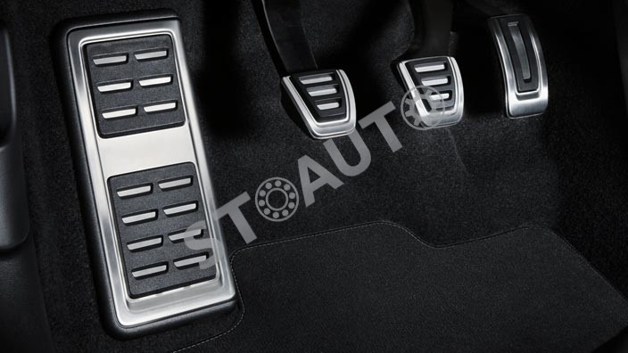 8V1064200A Set tuning protectii pedale din otel inoxidabil originale Audi A3 2013-2017 OE