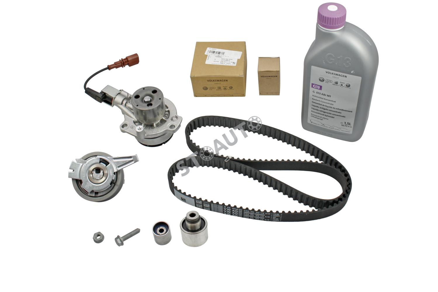kgf71.6 KIT DISTRIBUTIE ORIGINAL VW GOLF 7 1.6 TDI CU POMPA DE APA OE