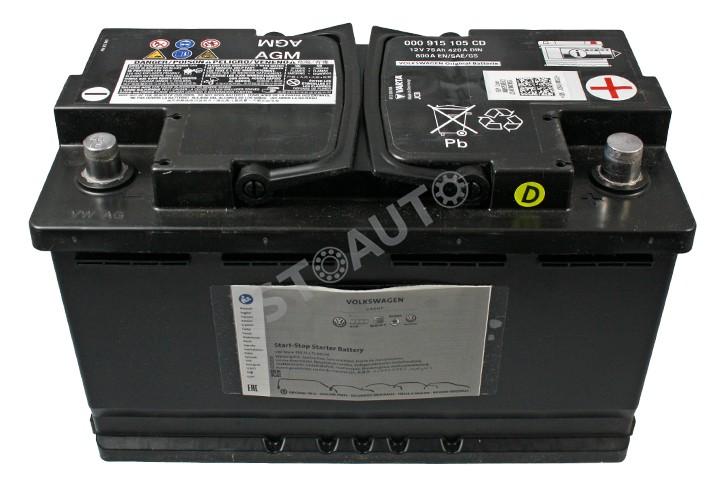 000915105CD Baterie de pornire OE