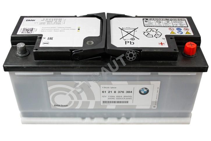 61218376384 Baterie 110Ah OE