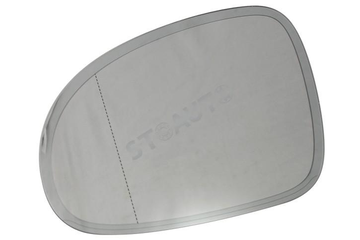5M0857521F Geam oglinda stanga OE