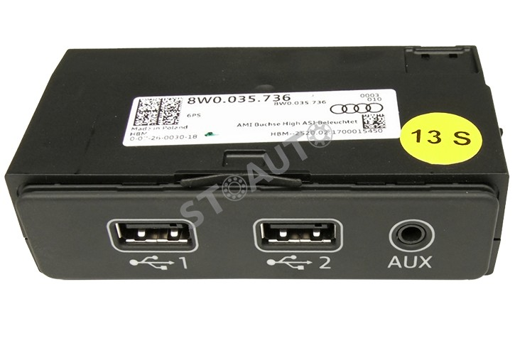 8W0035736 Interfata port usb si auxiliar OE
