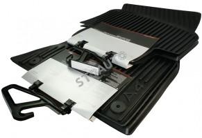 Covorase cauciuc originale Audi A4 B8 2008-2012 fata spate