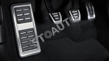 Set tuning protectii pedale din otel inoxidabil originale Audi A3 2013-2017