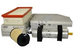 Set filtre revizie originale AUDI A4 B8 2.0 TDI 143 cai