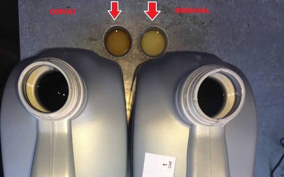 Atentie ! la uleiul original VW de 5 litri cu norma 5W30 si codul OE G052195M